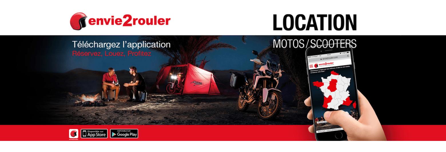 louez votre moto ou scooter Honda avec Envie2rouler