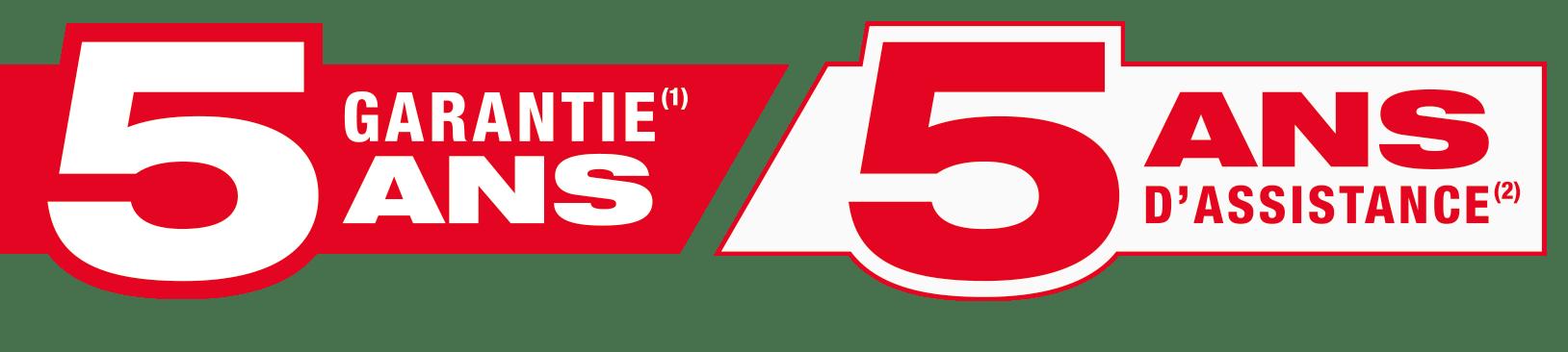 Garantie 5 ans Honda