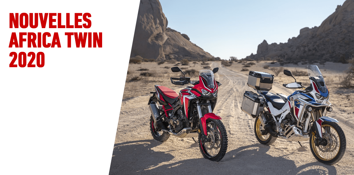 Africa Twin et Africa Twin Adventure Sports 2020